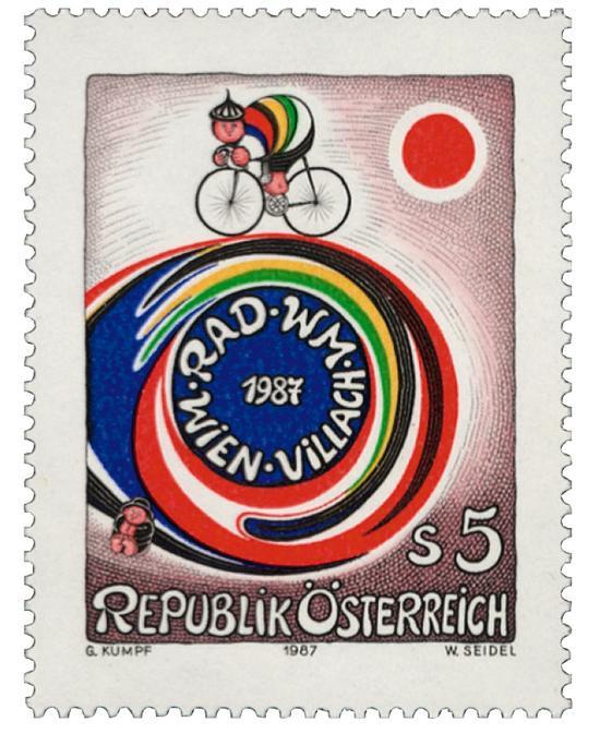 Kumpf Radweltmeisterschaften Wien Villach