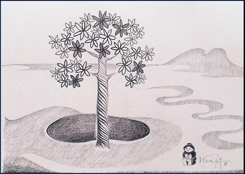 Kumpf Träume unterm Baum