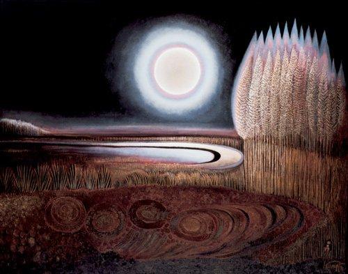 Kumpf Mondschein in Seewinkl
