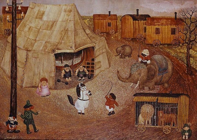Gottfried Kumpf armer Zirkus