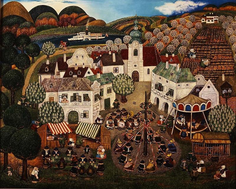 Gottfried Kumpf Volksfest in der Wachau