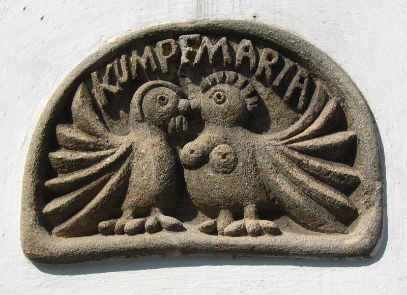 Gottfried Kumpf Sandsteinrelief