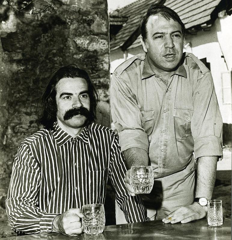Gottfried Kumpf mit György Sebestyén