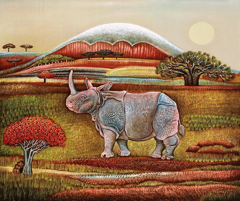 Gottfried Kumpf Rhinozeros