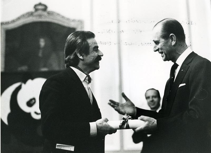 Gottfried Kumpf mit H.R.H. Prinz Philip