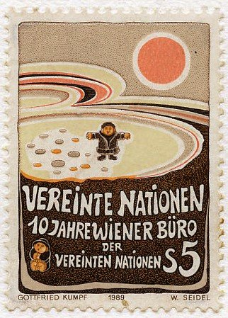 Gottfried Kumpf 1983-1990 Briefmarke9