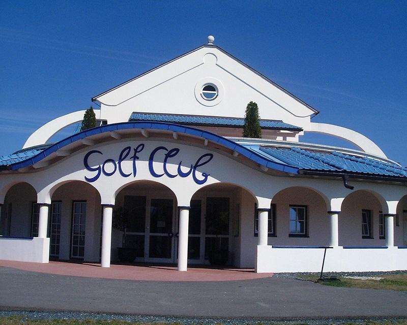 Gottfried Kumpf Eingang Golfclub
