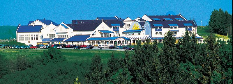Gottfried Kumpf Hotelanlage in Stegersbach