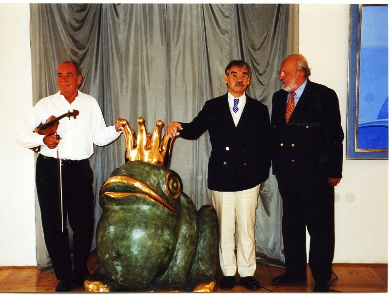 Gottfried Kumpf Toni Stricker Gottfried Kumpf Hofrat Prof.Dr.Walter Koschatzky Ausstellung im Schloss Burgau