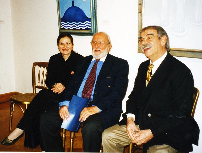 Gottfried Kumpf Dr.Gabriela und Hofrat Dr.Walter Koschatzky