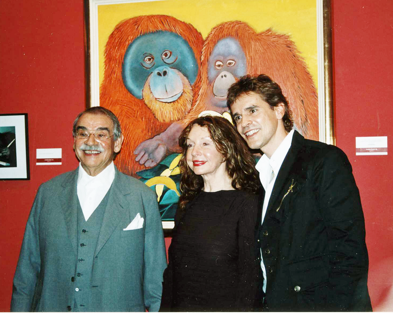 Gottfried Kumpf Thomas Brezina mit Gottfried und Guni Kumpf